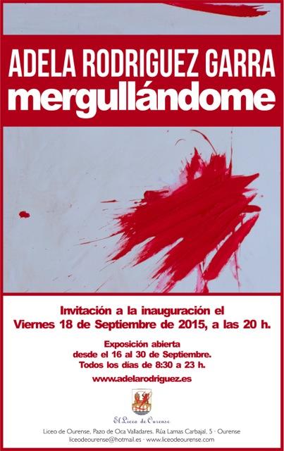 Adela Rodriguez Exposicion Ourense sept 2015 01