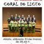 CARTEL CORAL DO LICEO