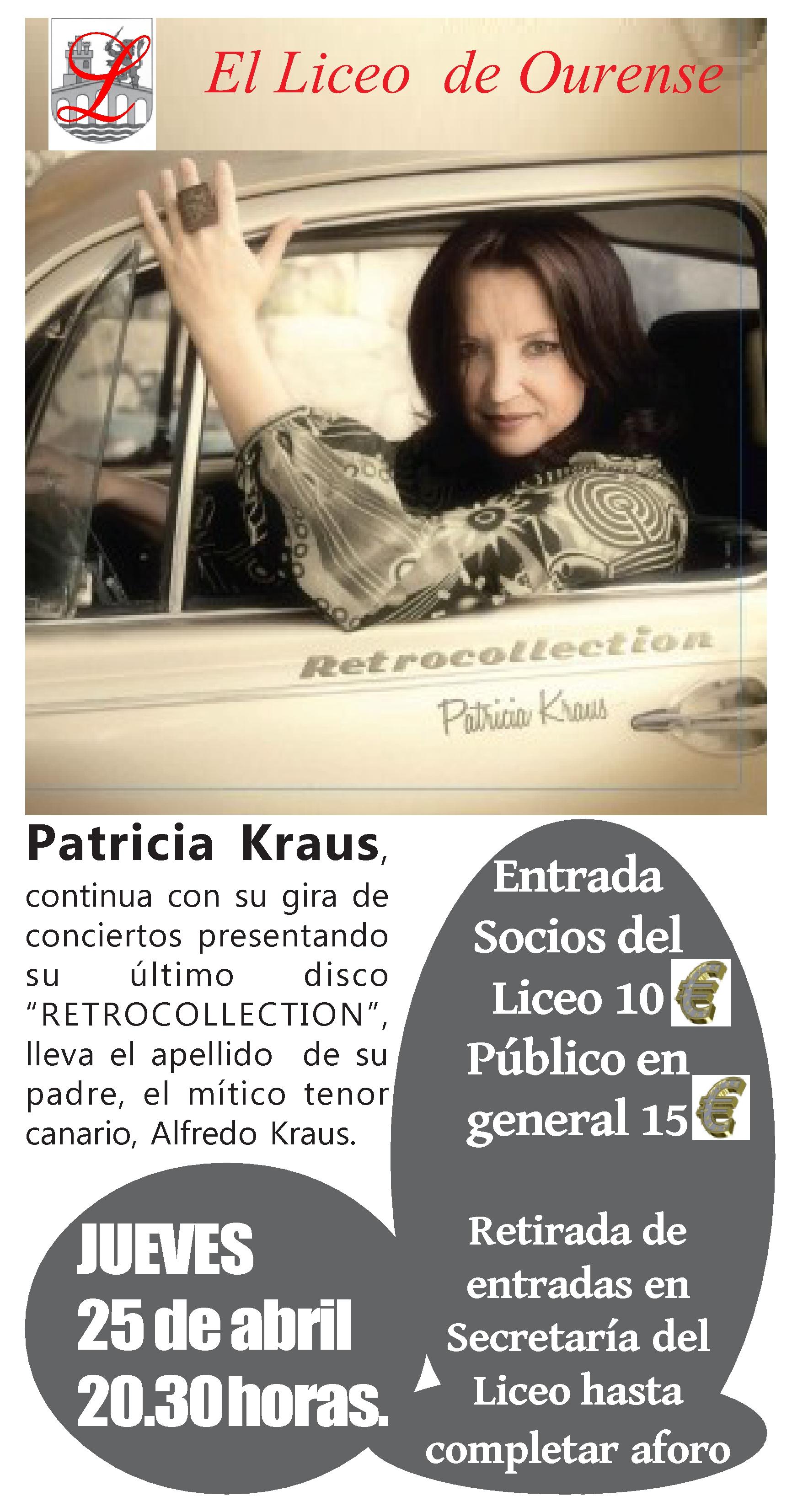 CARTEL PATRICIA KRAUS