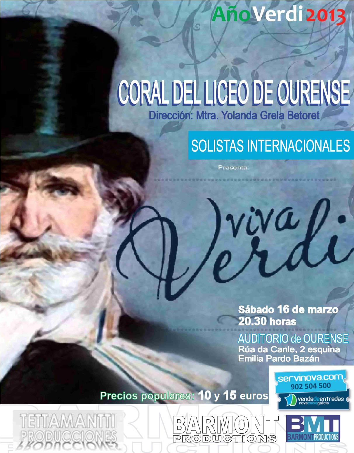 Cartel Ourense verdi