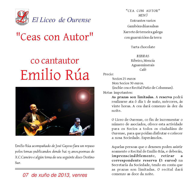 EMILIO RUA