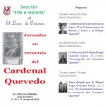 JORNADAS CARDENAL QUEVEDO