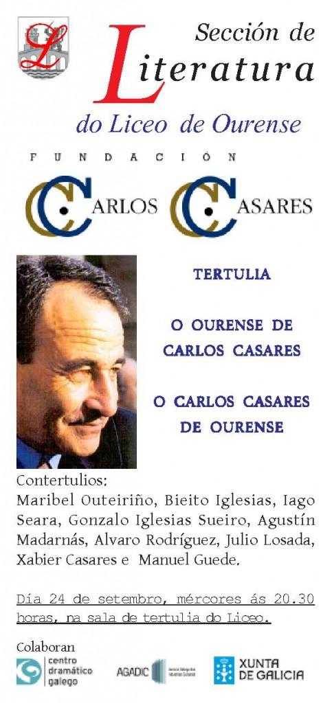 TERTULIA CARLOS CASARES