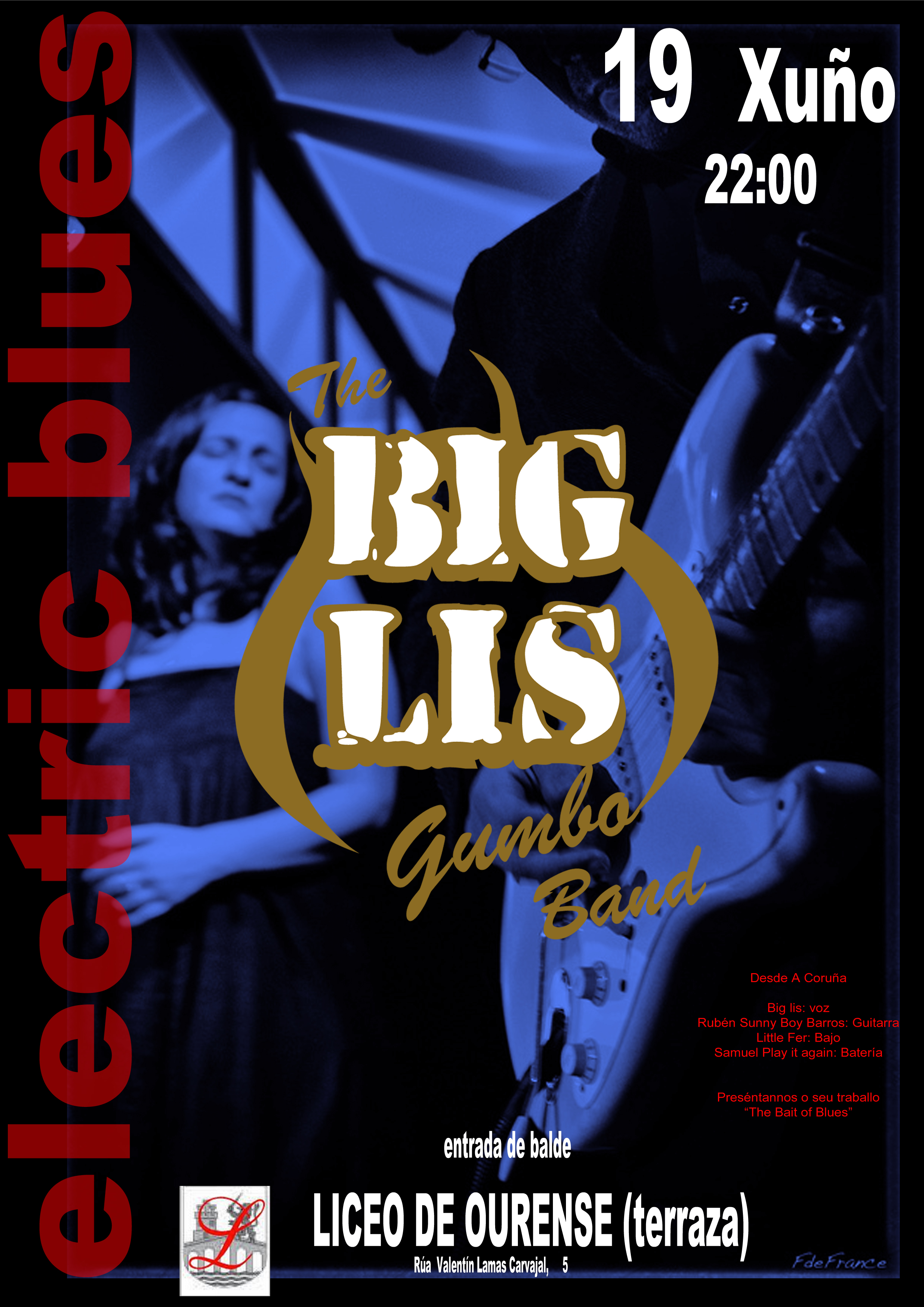 cartaz liceo big lis 2015